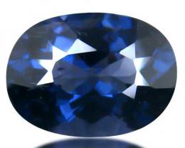 Tanzania Spinel 1.63 Cts Cobalt Blue Portuguese cut BGC3