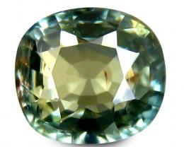 Cylon Sapphire 1.00 Cts Green Antique Step Cut BGC44