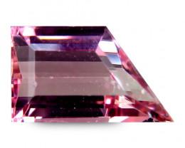 Brazilian Tourmaline 2.97 Cts Pink Antique Step Cut BGC83