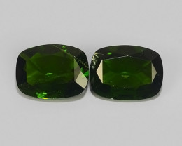 2.40 CTS NATURAL ULTRA RARE CHROME GREEN DIOPSIDE  RUSSIA NR!!