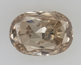 0.09 ct , Oval Brilliant cut Diamond , Natural Diamond gemstone