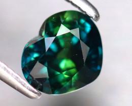 Sapphire 1.10Ct Natural Peacock Sapphire ER327/B25