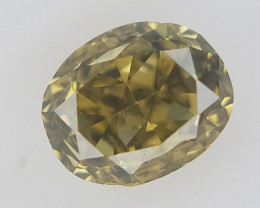 0.10 ct , Green Natural Diamond , Diamond For Jewelry
