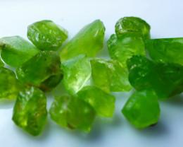 NR!!!! 100.50 CTs Natural - Unheated Green Peridot Rough Lot