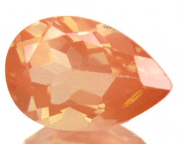 1.88 Cts Natural Greenish Red Sunstone Andesine Pear Cut Congo