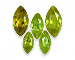 2.84 Cts Wonderful Lustrous Natural Sphene Lot