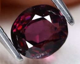 Purple Spinel 1.23Ct Oval Cut Natural Purple Color Spinel B0407
