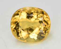 4.10 Ct Natural Heliodor ~ AAA Grade ~ Yellow Color