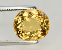 4.40 Ct Natural Heliodor ~ AAA Grade ~ Yellow Color