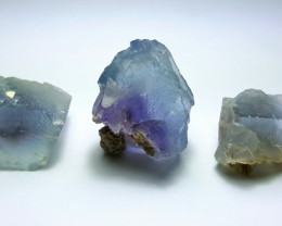 Amazing Natural color gemmy grade Crystal Fluorite lot 200Cts-Pak