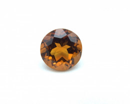 2.01 ct Citrine Loose Gemstone - Natural Gemstone - Round Shape