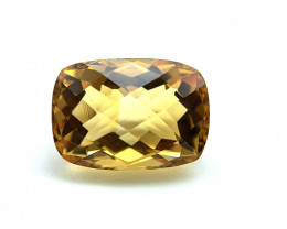8.54 ct Citrine Loose Gemstone - Natural Gemstone - Cushion Shape