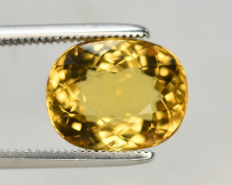 4.05 Ct Natural Heliodor ~ AAA Grade ~ Yellow Color