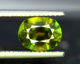 Sphene Titanite, 3.10 CT Natural Full Fire Sphene Titanite Gemstone
