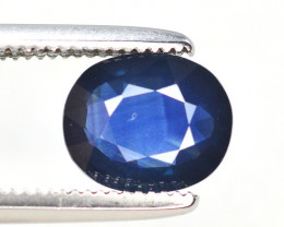 Gorgeous Color 1.30  Ct Natural Royal Blue Ceylon Sapphire