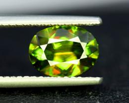 Sphene Titanite, 2.65 CT Natural Full Fire Sphene Titanite Gemstone