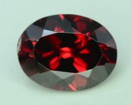 Top Grade 3.05 ct Fancy Cut Red Garnet