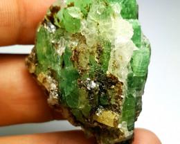 Amazing Natural color Emerald cluster specimen  120 Cts-Afghanistan