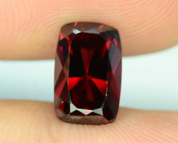 Fancy Cut Top Grade 3.55 ct Red Garnet