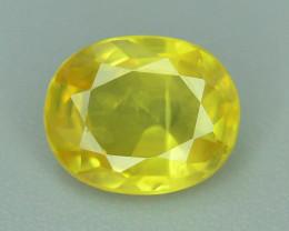 Top Clarity & Color 1.15 ct Rarest Yellow Sapphire~Sri Lanka