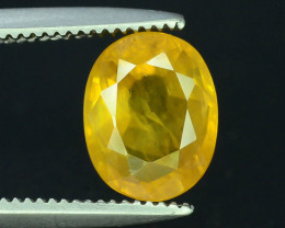 Top Clarity & Color 1.70 ct Rarest Yellow Sapphire~Sri Lanka