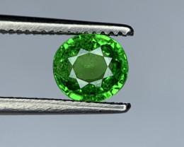0.73 Carats vivid Green Natural Tsavorite Gemstone