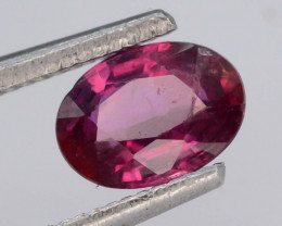 Mozambique Ruby 0.80 Ct Natural Reddish Pink Ruby