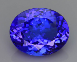 AAA Grade 6.04 ct Tanzanite eye catching Color SKU.29