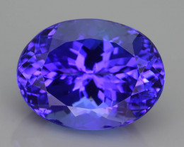 AAA Grade 6.90 ct Tanzanite eye catching Color SKU.29