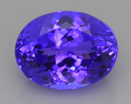 AAA Grade 8.13 ct Tanzanite eye catching Color SKU.29