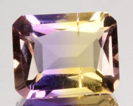 2.74 Cts Natural Bi-Color Ametrine Fancy Radiant Bolivia