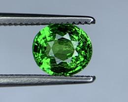 1.20 Carats vivid Green Natural Tsavorite Gemstone
