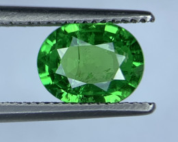 1.16 Carats vivid Green Natural Tsavorite Gemstone