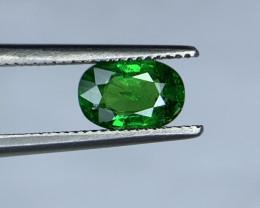 0.95 Carats vivid Green Natural Tsavorite Gemstone