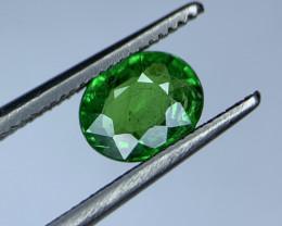 1.04 Carats vivid Green Natural Tsavorite Gemstone