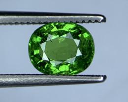 1.32 Carats vivid Green Natural Tsavorite Gemstone