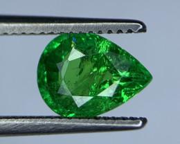 1.24 Carats vivid Green Natural Tsavorite Gemstone