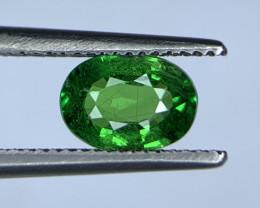 0.90 Carats vivid Green Natural Tsavorite Gemstone