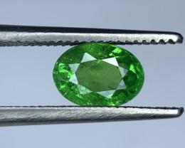 1.11 Carats vivid Green Natural Tsavorite Gemstone