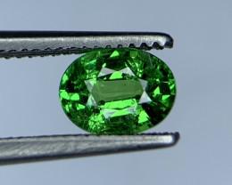 0.98 Carats vivid Green Natural Tsavorite Gemstone