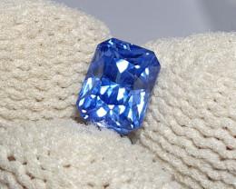 UNHEATED CERTIFIED 1.03 CTS NATURAL BEAUTIFUL CORNFLOWER BLUE SAPPHIRE CEYL
