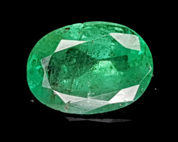 1.09CT NATURAL EMERALD ZAMBIA IGCZE17