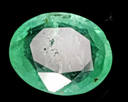 1.17CT NATURAL EMERALD ZAMBIA IGCZE19