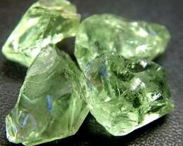 GREEN PRASIOLITE ROUGH 49.75 CTS [F1110 ]