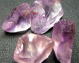 PINK AMETHYST [ROSE DE FRANCE] ROUGH 32.75 CTS  [F1168 ]