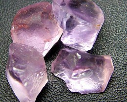PINK AMETHYST [ROSE DE FRANCE] ROUGH 24.50 CTS  [F1170 ]