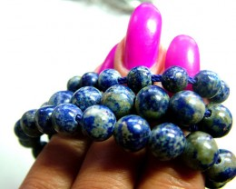 LAPIS BEADS DRILLED 183 NATURAL NP-113