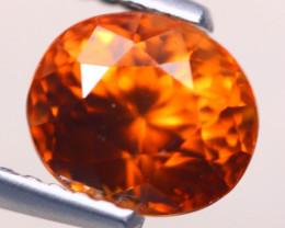 2.54Ct Natural Orange Zircon Oval Cut Lot LZ7452