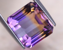 8.45Ct Natural Bi Color Ametrine Square Cut Lot LZ7113