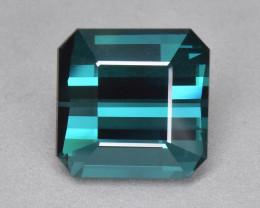 7.67 Cts Fabulous Beautiful Color Natural Blue Green Tourmaline
